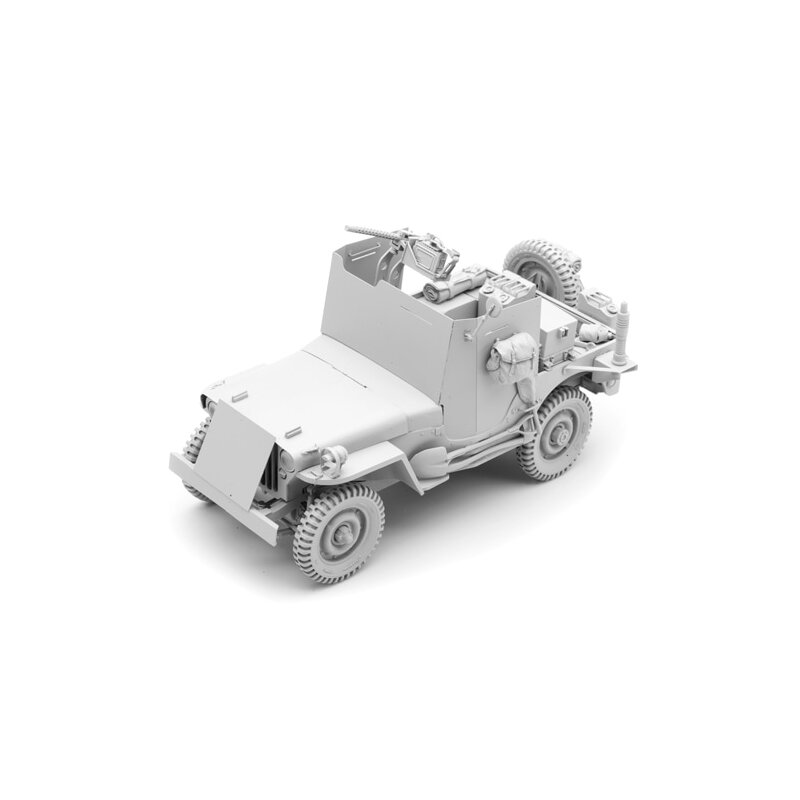 1/16 Bausatz Willys Jeep gepanzert