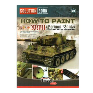 WWII German Tanks Solution Buch