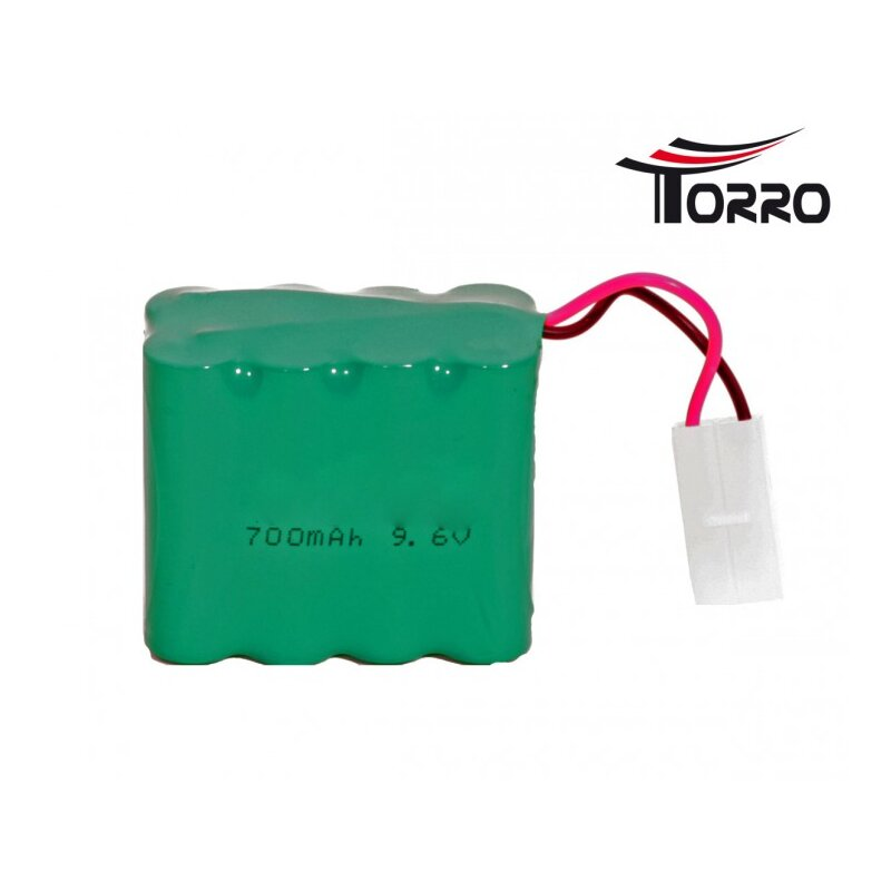 9.6 V 700 mAh Ni-Cad battery for R / C radio-controlled tanks