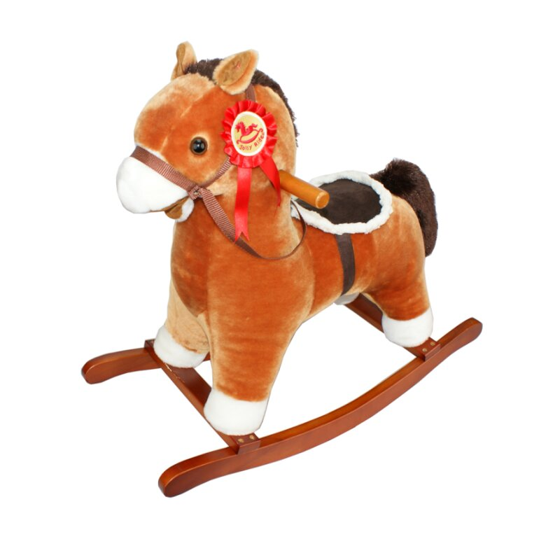 TORRO small rocking horse with sound and effects!!! Brown TOR1002