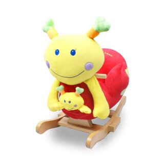 Torro 2in1 rocking snail *EMILY* with baby, seat and music