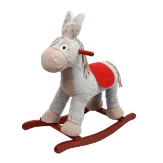 Rocking horse donkey *CHICO* with wobbly ears and music