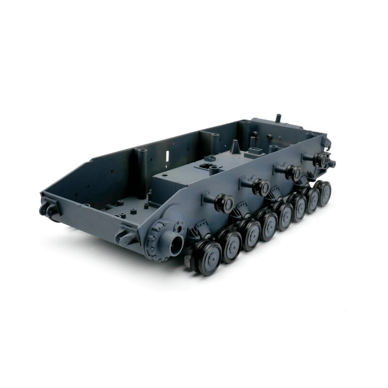 Panzer 4 - Lower chassis with plastic roadwheels - spare part