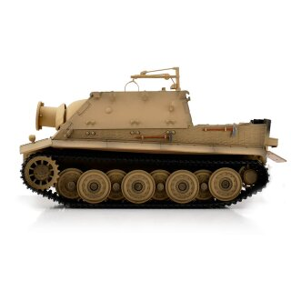 Sturmtiger Tank with Metal Chassis BB Version Desert Color 1/16 Torro