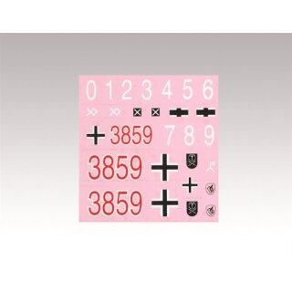 Panzer 4 Ausf. F-2 - spare part - Decal-Set