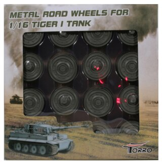 Painted cast aluminum wheels Late Version for TORRO Tiger 1 IR Model 805