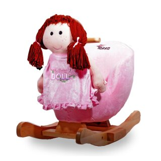 SUPERSWEET BABY rocking doll *PRINCESS* music & seat