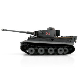 Tiger 1 tank with metal-chassis early version BB grey