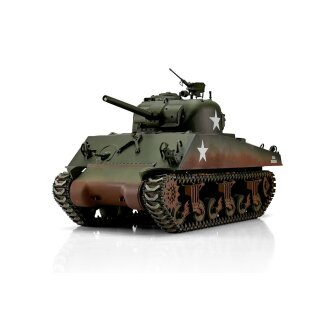 RC 1:16 tank Sherman M4A3 Pro-Edition IR Version Torro RC 1:16 tank