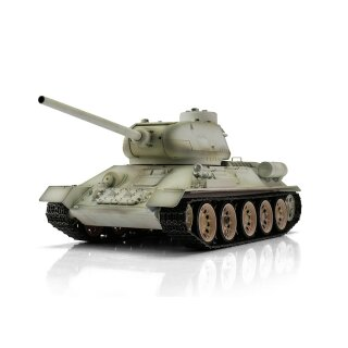 1/16 RC Tank russian T34/85 metal edition snow camouflage BB