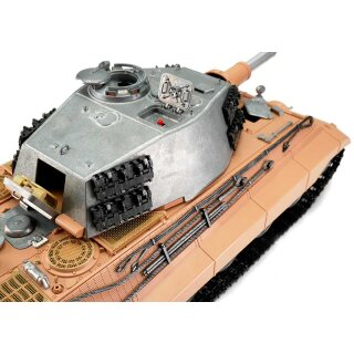 TORRO 1/16 RC Kingtiger Tiger 2 IR-Battlesystem unpainted