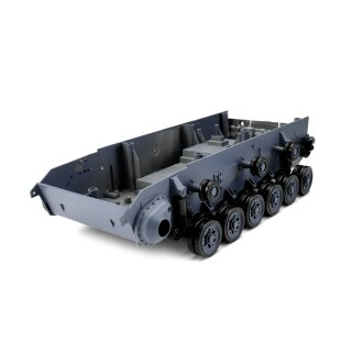 Panzer 3 - spare part - Lower chassis with road wheels