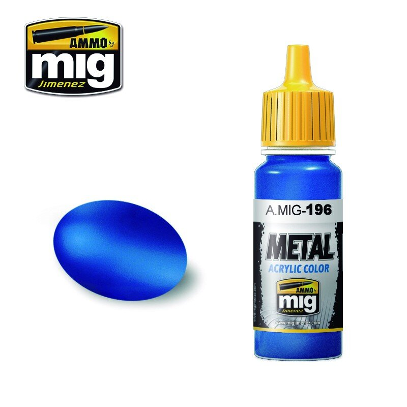 WARHEAD METALLIC BLUE