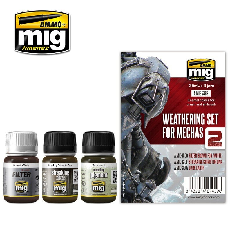 WEATHERING SET FOR MECHAS