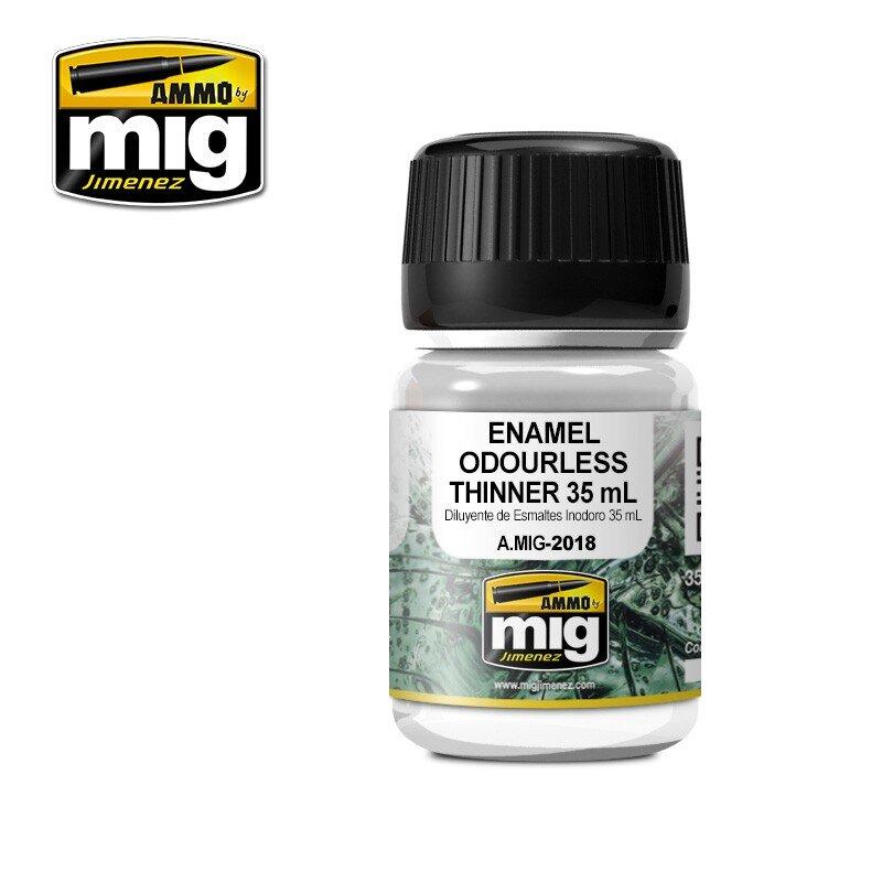 enamel ouderless thinner 35 ml