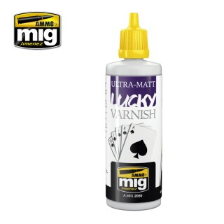 ULTRA-MATT LUCKY VARNISH (BIG 60 ML SIZE)