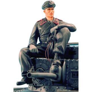 1/16 Figures Kit Figure German Tank Commander Sitting
