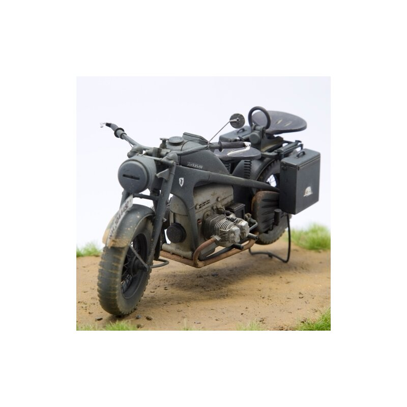 1 16 bausatz motorrad z ndapp ks 750 1 solo. Black Bedroom Furniture Sets. Home Design Ideas