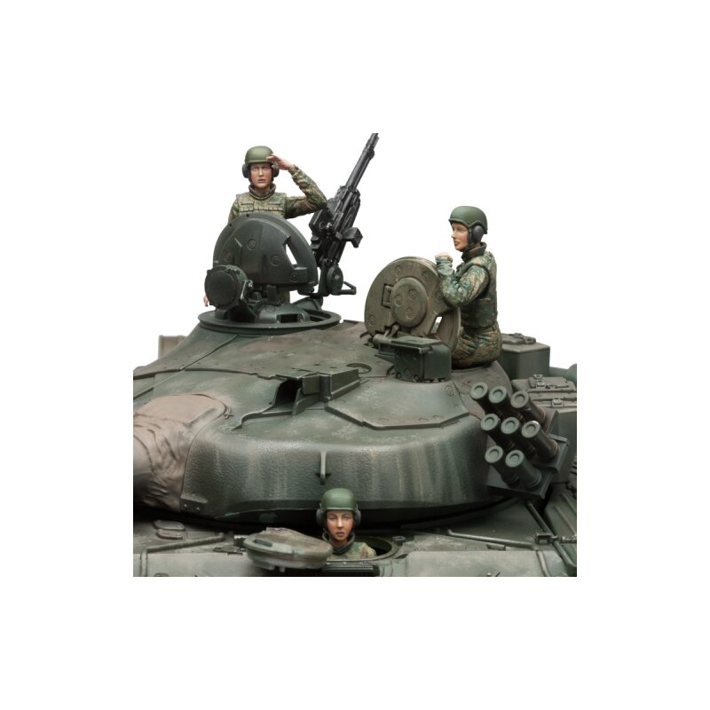 1/16 Figures Kit IDF Female Tank Crew Set