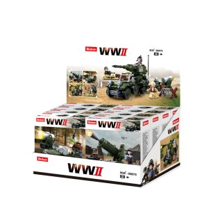 WWII - 4in1 ARMY Displaybox