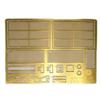 T-90 brass protective grille